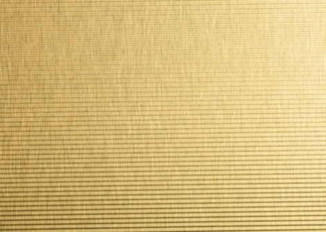 Oberflex Metapal 4152H Horiz. Ribbed Brushed Brass-tinted
