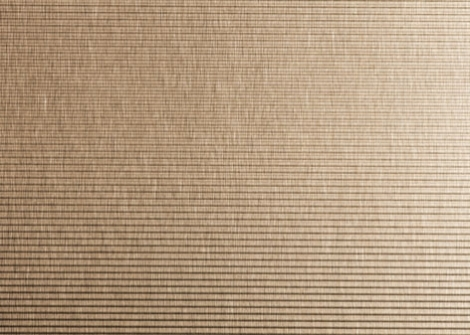 4155H Horiz. Ribbed Brushed Bronze-tinted